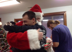 Hug from Santa
