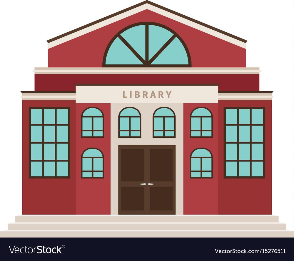 red-library-cartoon-building-icon-vector-15276511