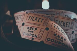 ticket, coupon, admission